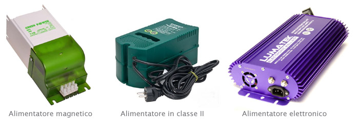 alimentatori per illuminazione grow box