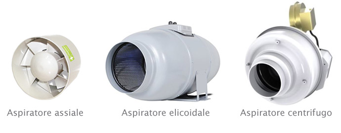 aspiratori aria grow-box