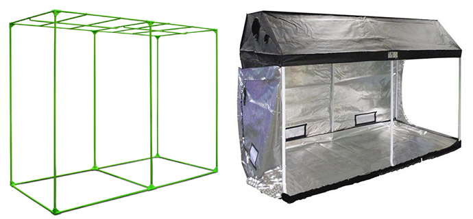 struttura di una grow box