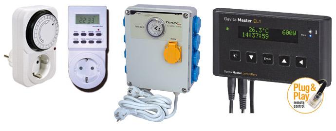 timer, quadri elettrici e centraline