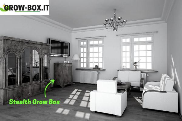 Grow Box invisibile